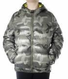 Chlapecká zimní bunda HOLIDAY DOWN JACKET BOY - CAMO