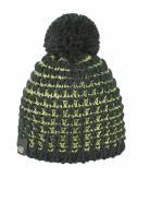 Dívčí zimní čepice BICOLOR PON - GRN