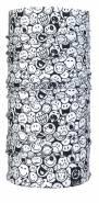 Unisex multifunkční šátek SMILEY BANDANA - WHT