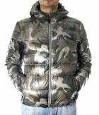 Pánská zimní bunda péřová ARMY DOWN JACKET MAN ARM