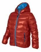 Chlapecká zimní bunda HOLIDAY DOWN JACKET BOY RED