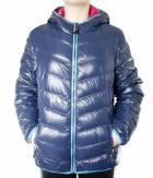 Dívčí zimní bunda péřová HOLIDAY DOWN JACKET GIRL NVY
