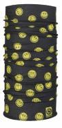 Unisex multifunkční šátek SMILEY BANDANA - YEL