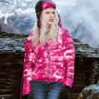 Dámská zimní péřová bunda - PATTERN DOWN JACKET WOMAN - PFUX
