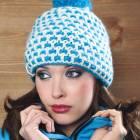 Dámská zimní čepice s bambulí - Bic Beanie - IND