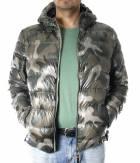 Pánská zimní bunda péřová - ARMY DOWN JACKET MAN ARM