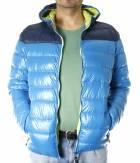 Pánská zimní bunda - BLOCK DOWN JACKET MAN - RYL